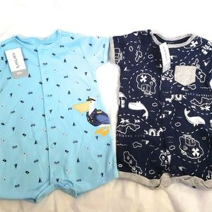 Carter Company.  Baby Boys Size 6 Month Romper